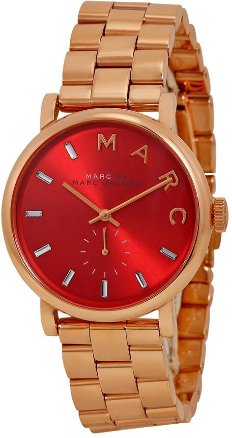 Marc by Marc Jacobs Baker Rose Gold-Tone Ladies Watch MBM3344