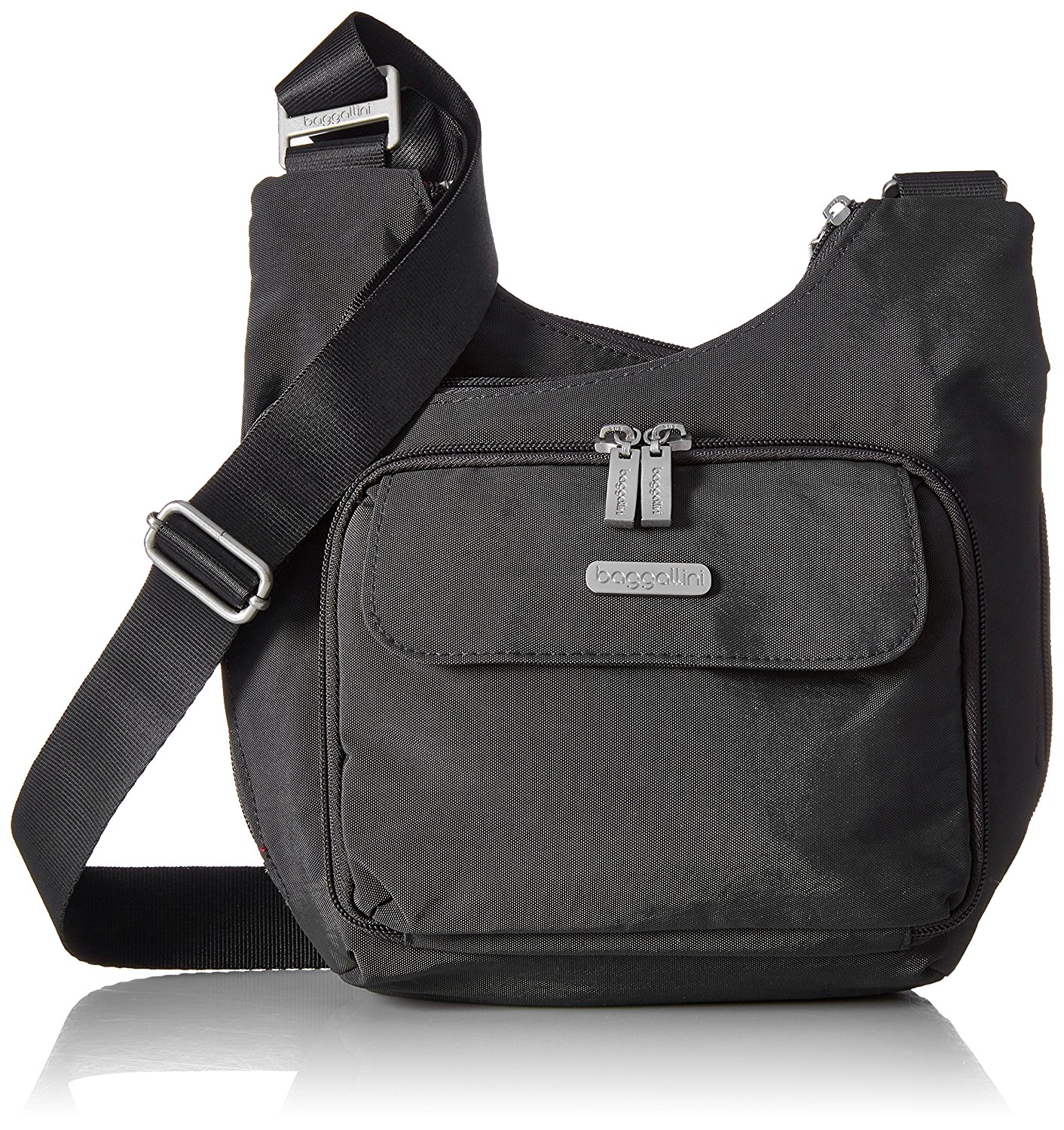 Baggallini Luggage Criss Cross Bag - Charcoal - MCC570CLFS