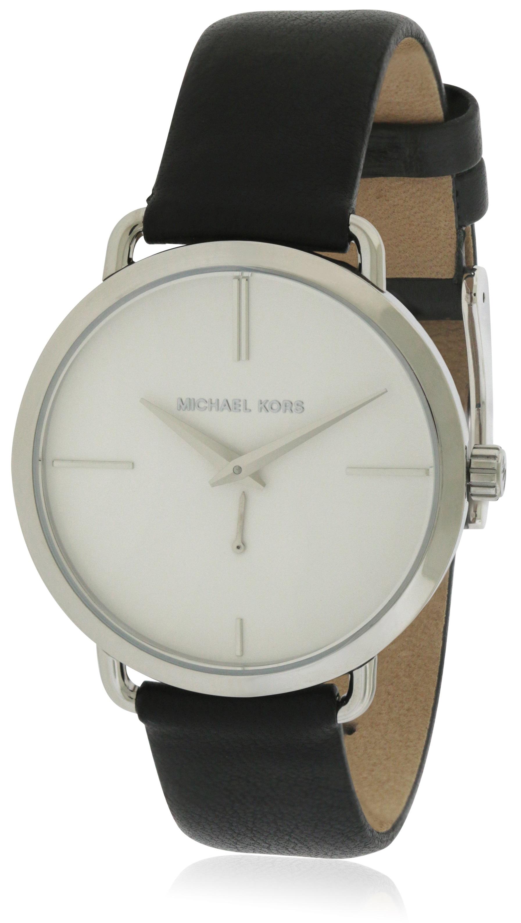 84456b9efeef Michael Kors Portia Leather Ladies Watch MK2658