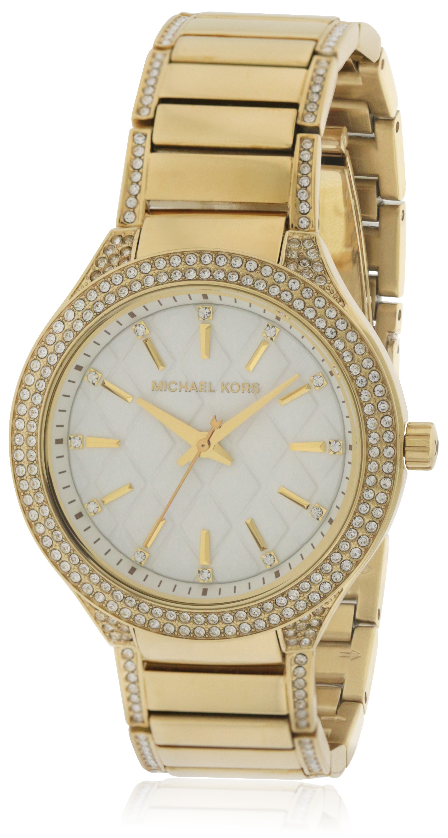 74ccda66ed0e Michael Kors Kerry Gold-Tone Ladies Watch MK3347