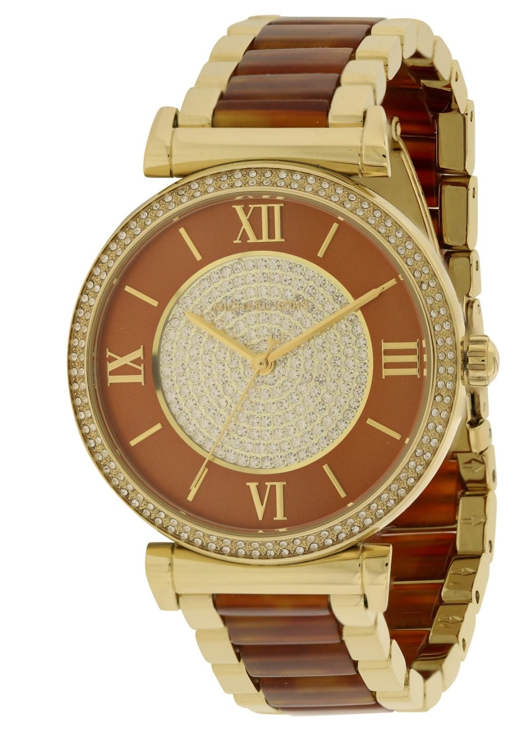 Michael Kors Catline Two-Tone Ladies Watch MK3411
