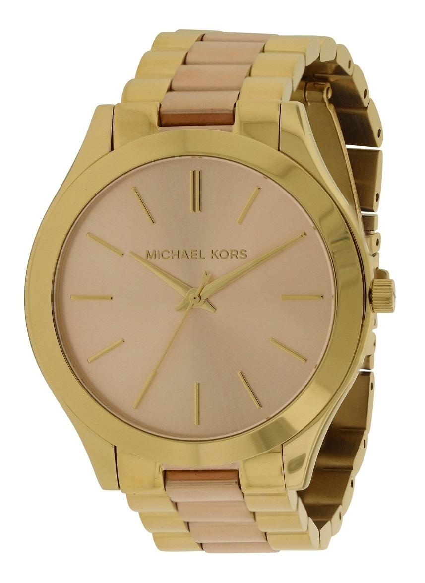 fd90c0fddce4 Michael Kors Slim Runway Two-Tone Ladies Watch MK3493