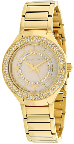 Michael Kors Mini Kerry Gold-Tone Stainless Steel Ladies Watch MK3801