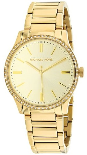 Michael Kors Bailey Gold-Tone Stainless Steel Ladies Watch MK3808