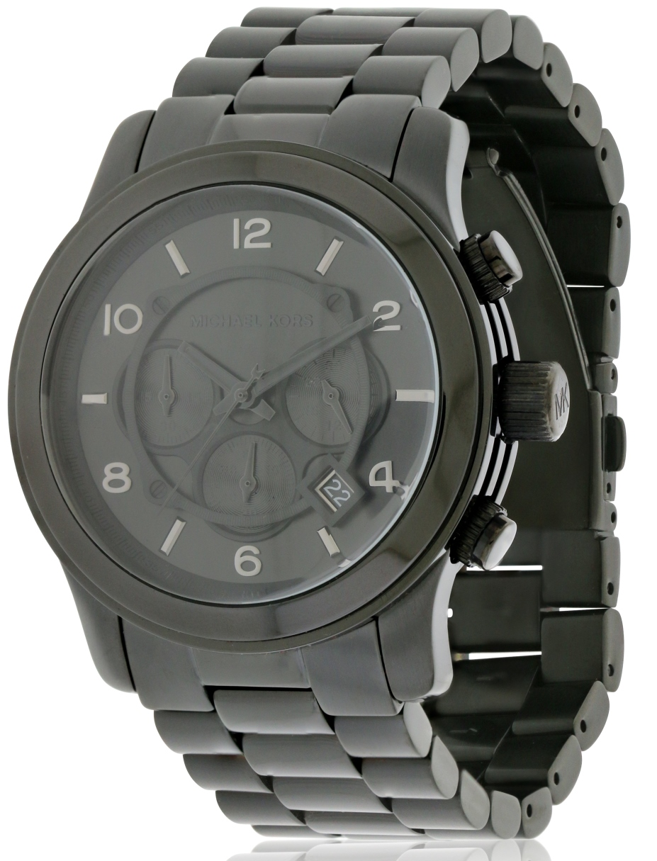 Michael Kors Black Ion Plated   Mens Watch MK8157