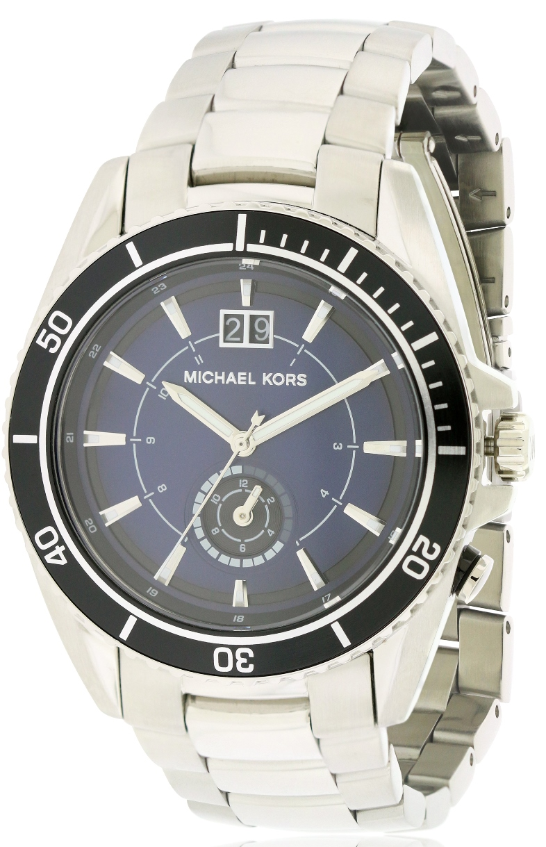 Michael Kors Jetmaster Stainless Steel Mens Watch MK8400