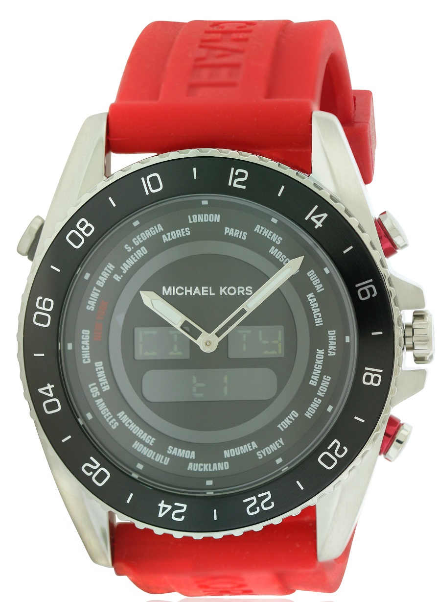 Michael Kors Jetmaster Ana/Digi Mens Watch MK8402