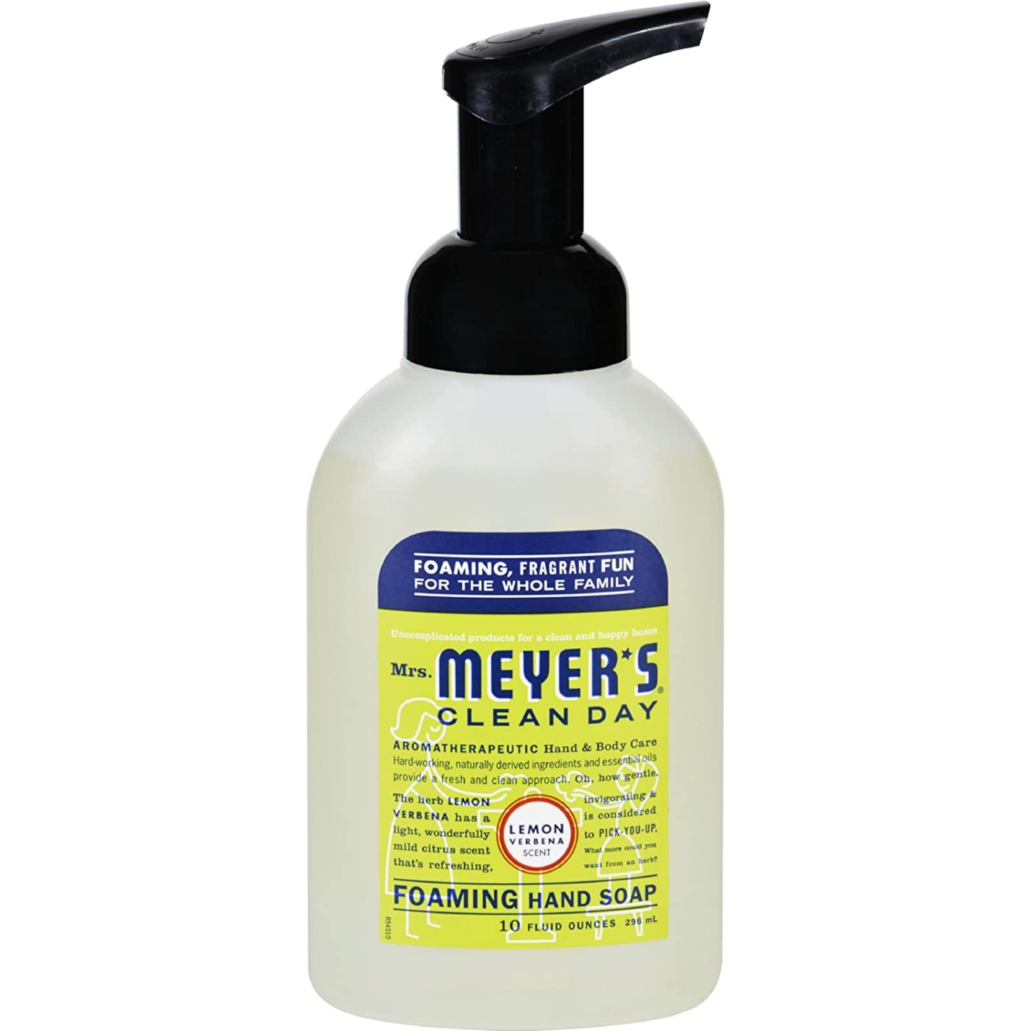Mrs. Meyers Foaming Hand Soap - Lemon Verbena - Case of 6-10 fl oz