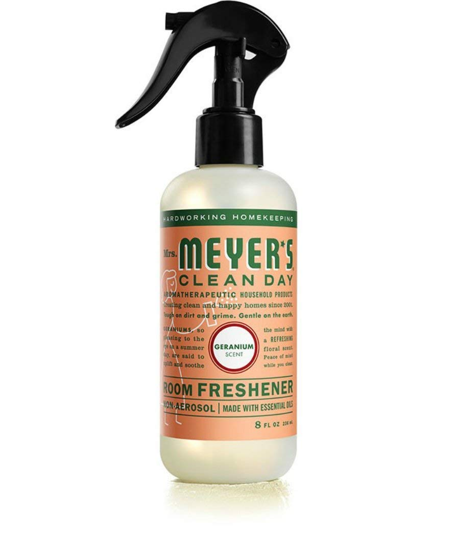 Mrs. Meyers Room Freshener - 8 OZ (Geranium - Pack - 1)