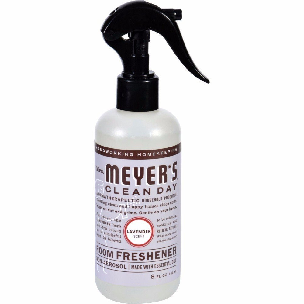 Mrs. Meyers Clean Day Room Freshener Lavender Scent 2 Pack 8 oz Bottles