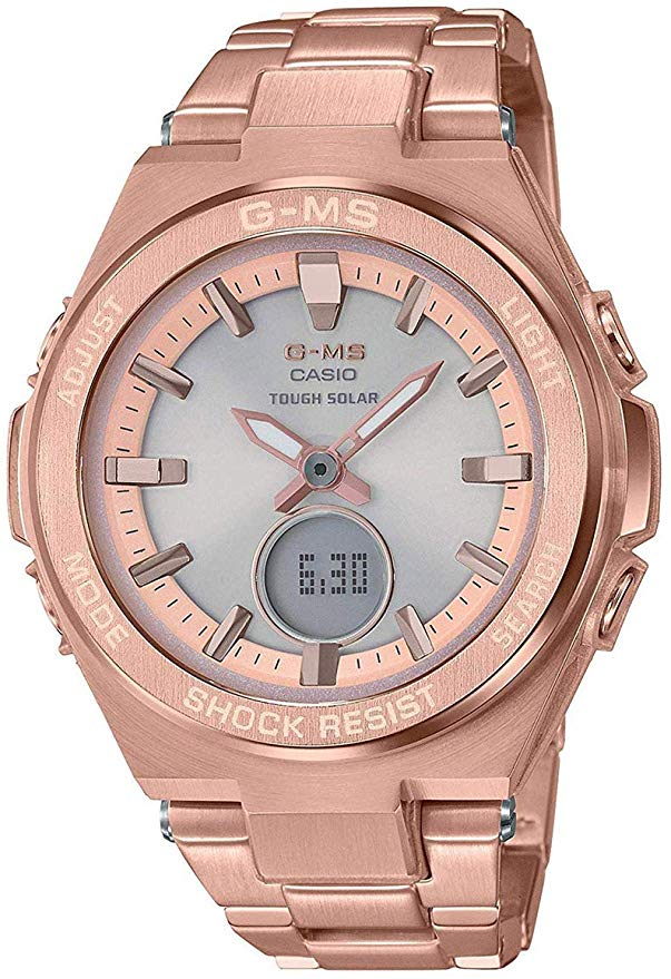 Casio Baby-G Stainless Steel Ladies Watch MSG-S200DG-4A