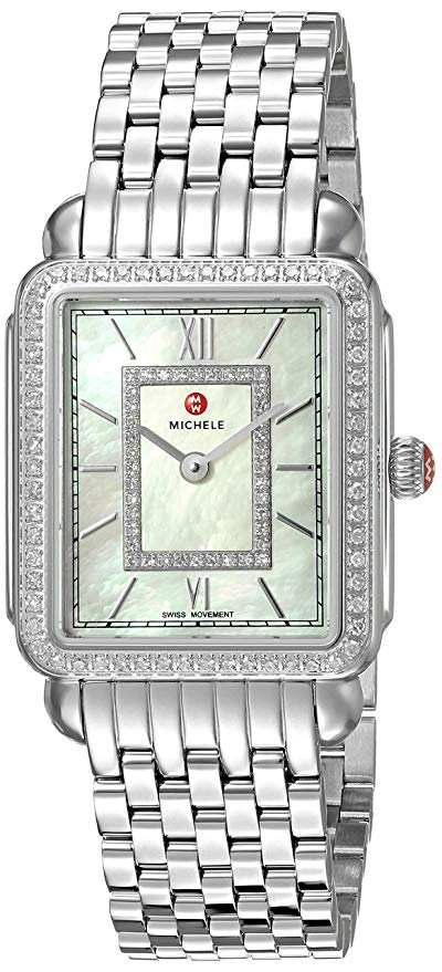 Michele Deco II Diamond Ladies Watch MWW06I000001
