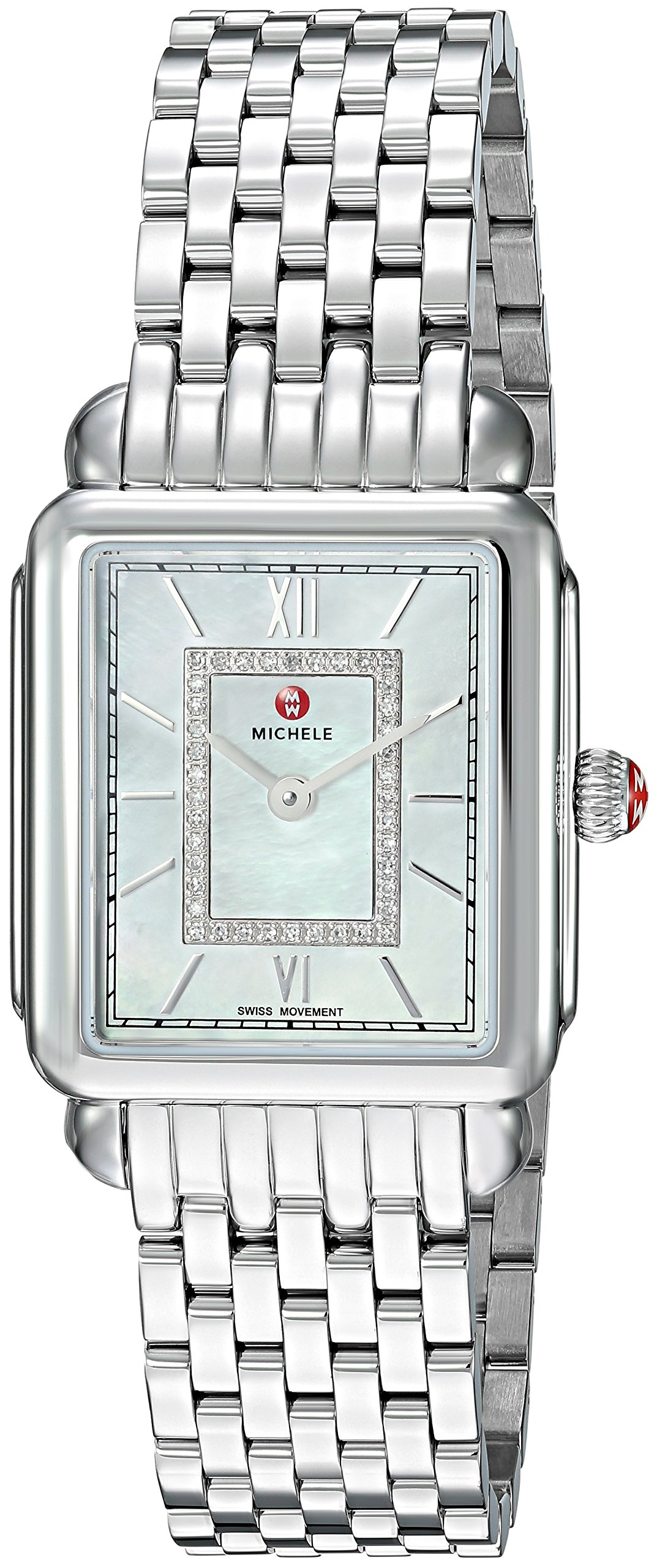 Michele Deco II Diamond Ladies Watch MWW06I000026