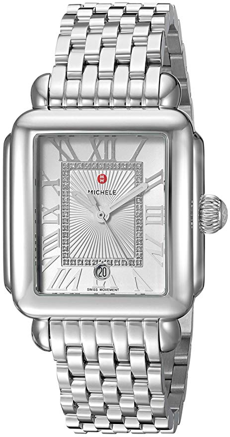 Michele Deco Madison Diamond Ladies Watch MWW06T000141