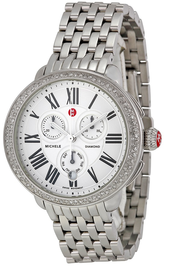 Michele Serein Diamond Chronograph Ladies Watch MWW21A000001