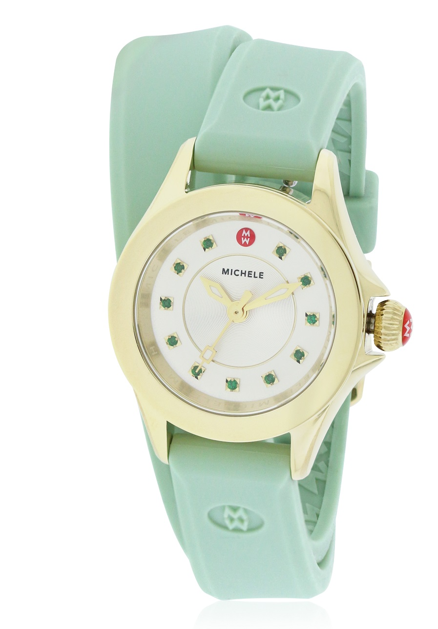 Michele Cape Mini Silicone Ladies Watch MWW27B000002