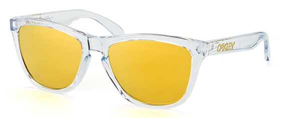 Oakley Frogskins Crystal - Sunglasses - OO9013-A4