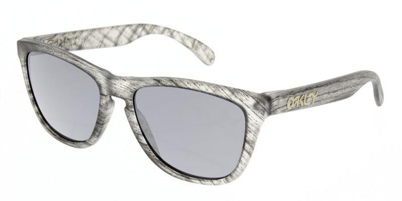 b094e7d61e Oakley Frogskins Driftwood Matte Clear Woodgrain - Sunglasses ...
