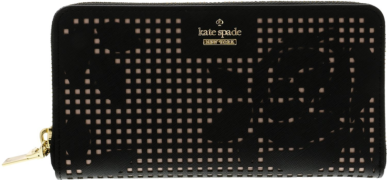 Kate Spade New York Cameron Street Perforated Lacey - Black - PWRU5727-001