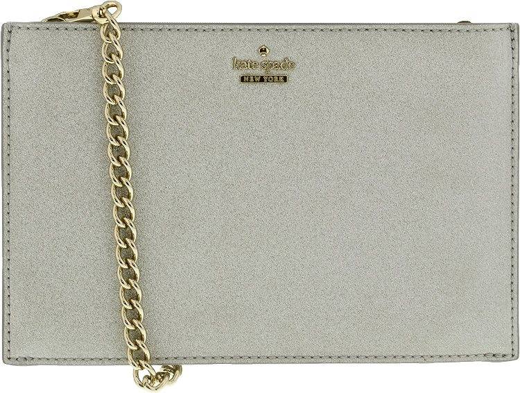 Kate Spade Burgess Court Mini Sima Crossbody - Silver - PWRU6022-040