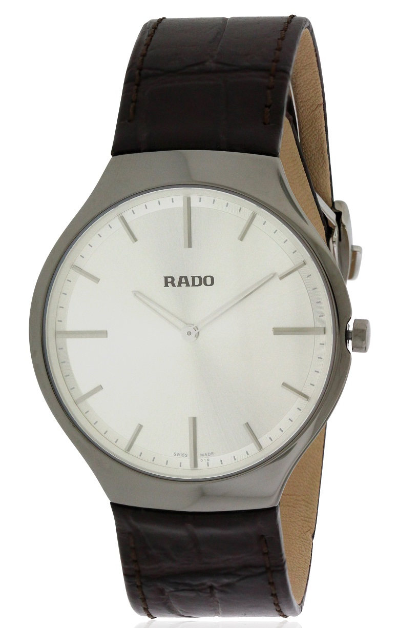 Rado True Thinline Leather Mens Watch R27955105