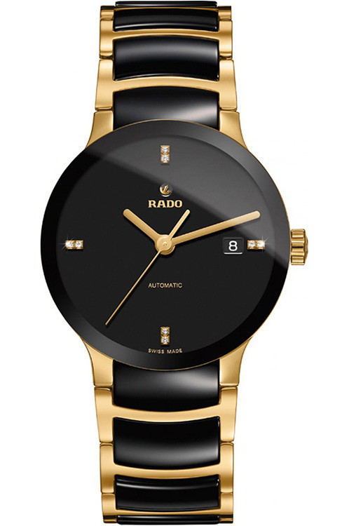 8da388bec5a7 Rado Centrix Two-Tone Stainless Steel Automatic Mens Watch R30035712