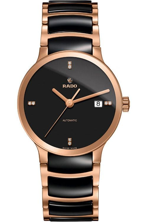 Rado Centrix Black Dial Automatic Mens Watch R30036712