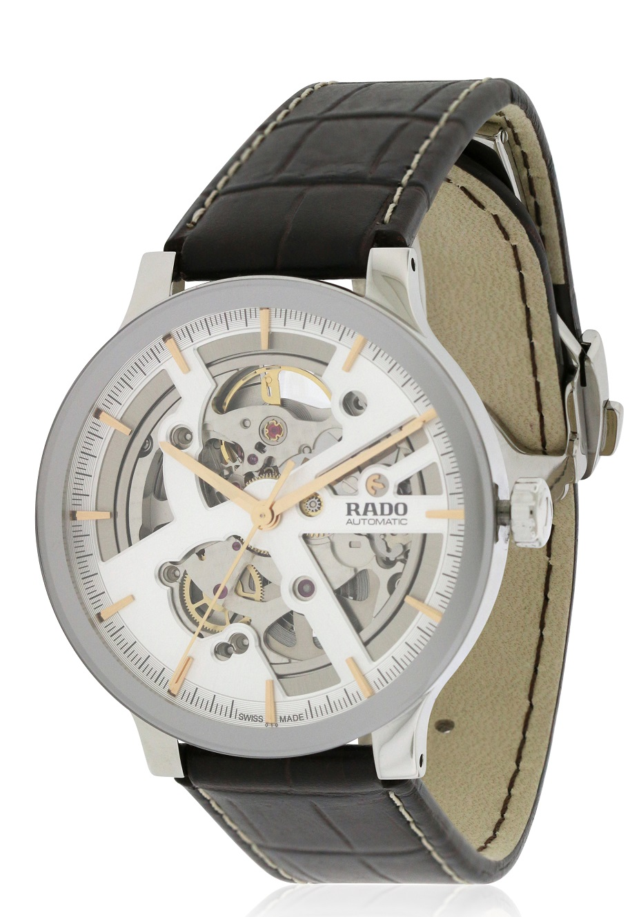 Rado Centrix Leather Automatic Mens Watch R30179105