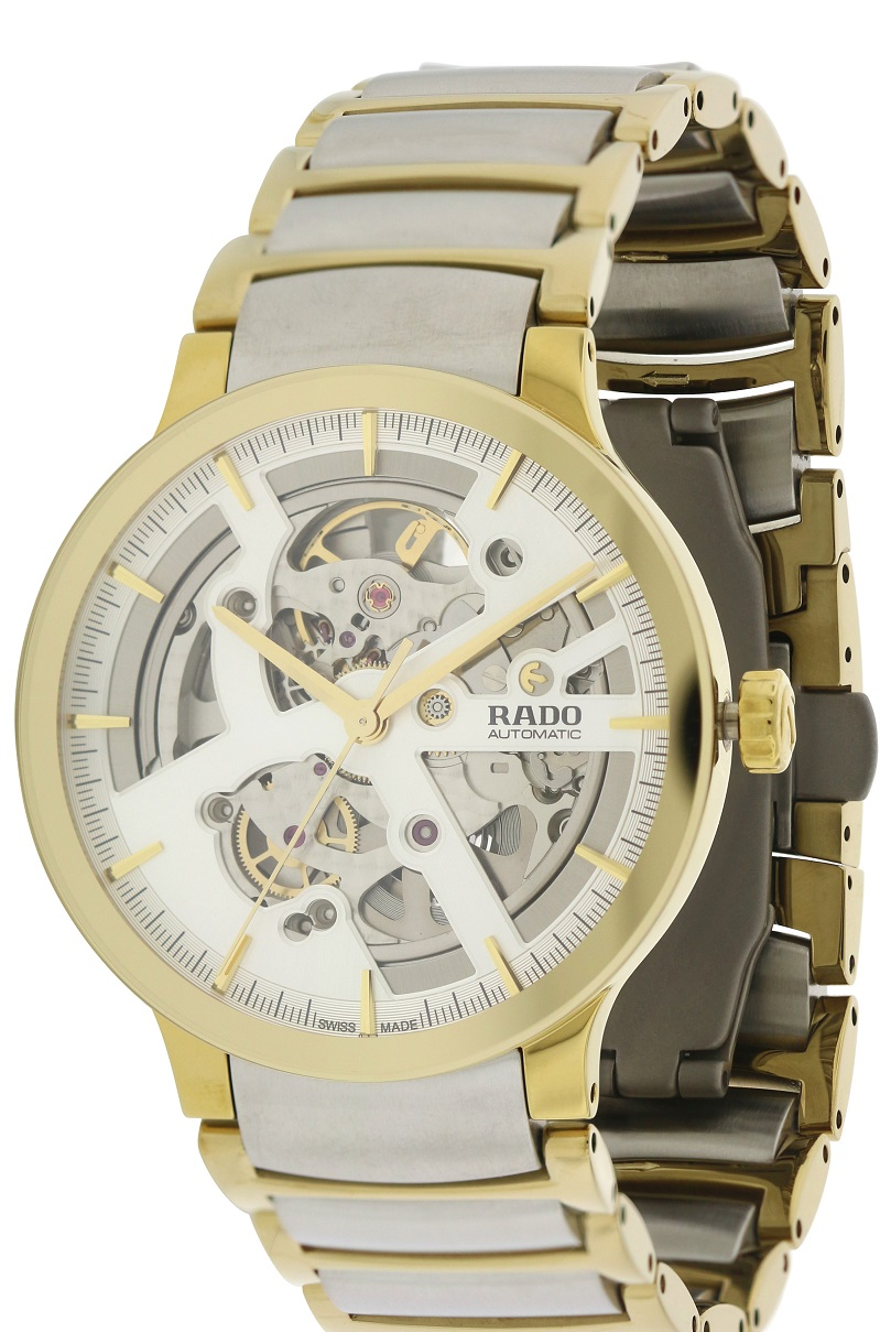 Rado Centrix Automatic Two-Tone Mens Watch R30180113