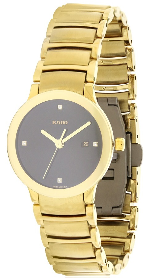 Rado Centrix Jubile Gold-  Tone Ladies Watch   R30528713