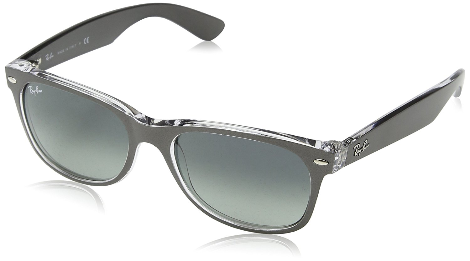 Ray-Ban Original Wayfarer Classic Black Polarized Sunglasses - RB2140-901 58-54,  Solar Time Inc 1b679c4e71