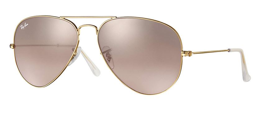 Ray-Ban AVIATOR GRADIENT Pink Mirror Sunglasses - RB3025-001/3E-58