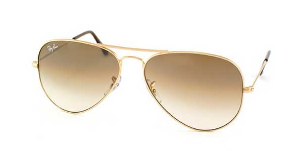 Ray-Ban Aviator Large Metal Unisex Sunglasses RB3025-001/51-58
