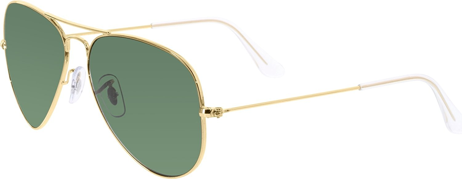 2e00dda4516de5 Ray-Ban Aviator Classic Gold Polarized Sunglasses - RB3025-001 58-55 ...
