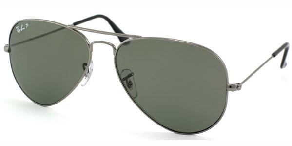 5ef7478bced Ray-Ban Aviator Large Polarized Unisex Sunglasses RB3025-004 58-58 ...