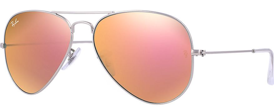 Ray-Ban Aviator Flash Lenses Unisex Sunglasses RB3025-019/Z2-58