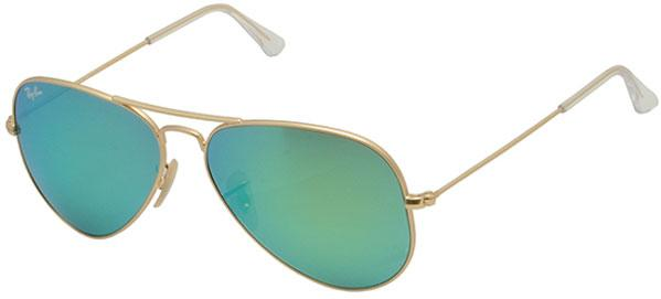 Ray-Ban Aviator Large Metal Gold Unisex Sunglasses RB3025-112/19-58