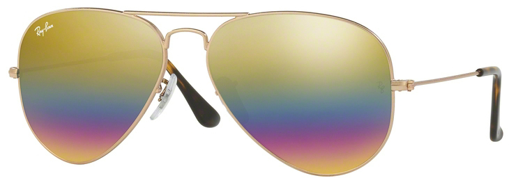 Ray-Ban Aviator  Sunglasses RB3025-9020C4-62