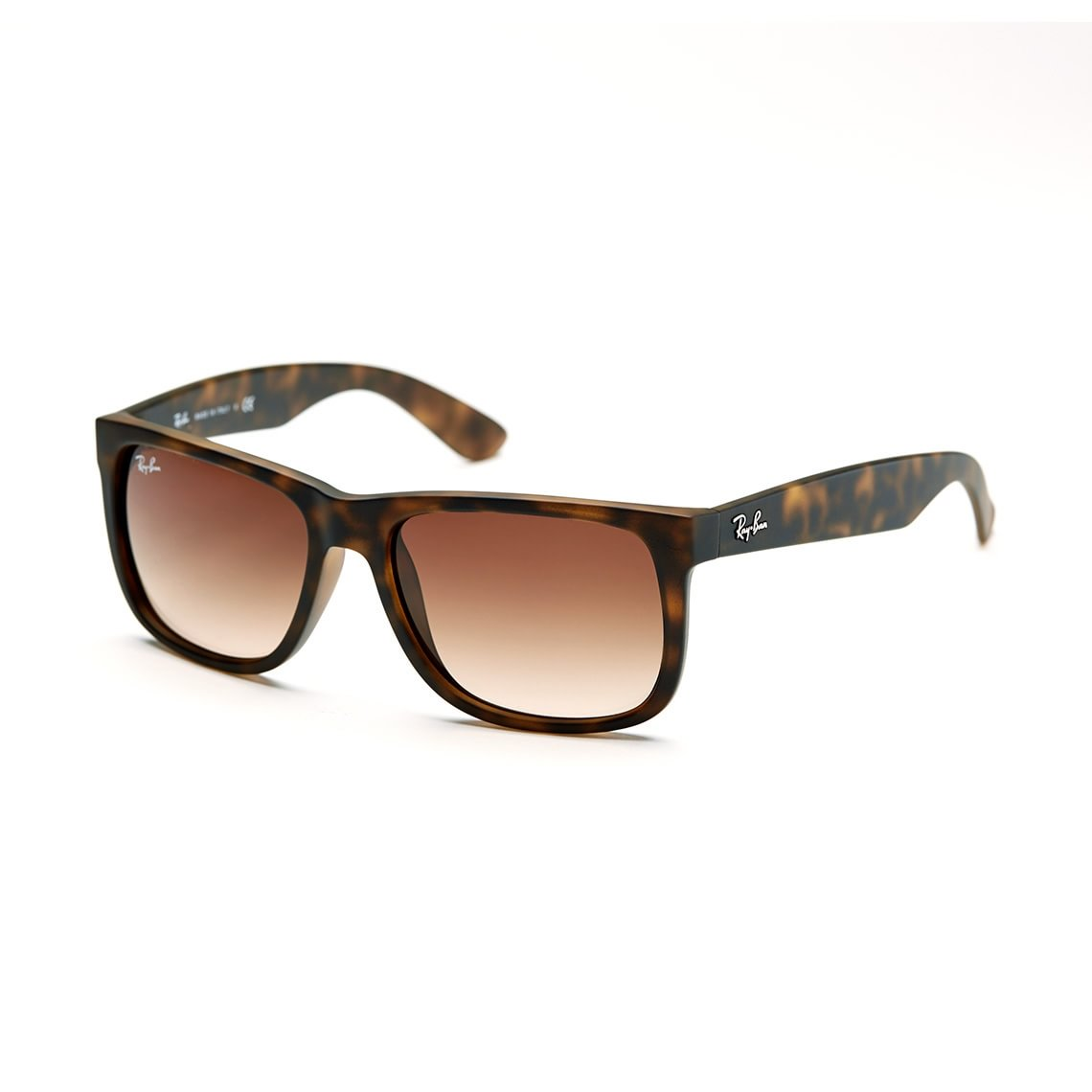 66032ab218f Ray-Ban Wayfarer Justin Unisex Sunglasses RB4165-710 13-55