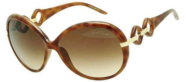 Roberto Cavalli Tortoise Ladies Sunglasses RC519S-53F