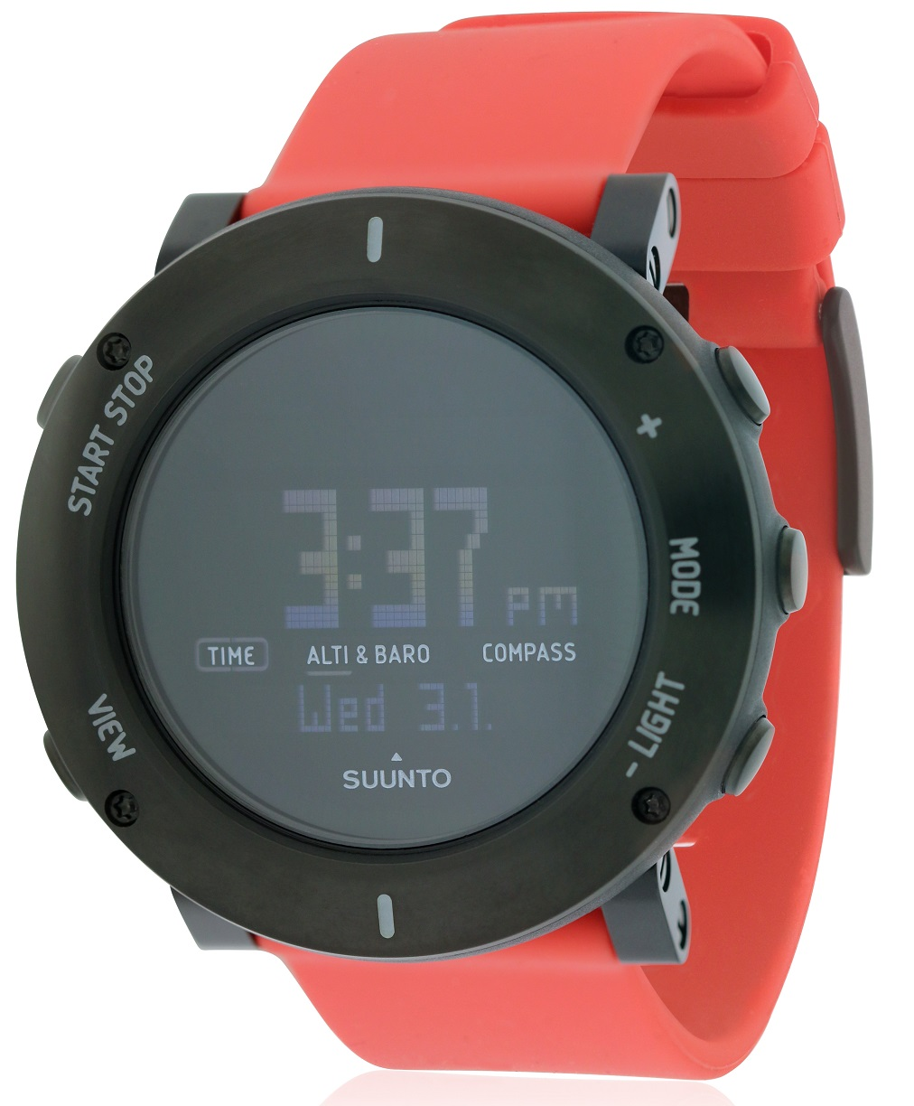 Suunto Core Crush Coral Chronograph Mens Watch SS020692000