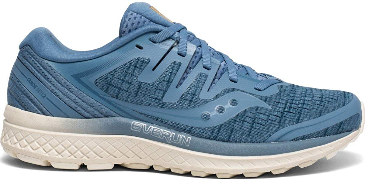 Saucony Guide ISO 2 Womens Running Shoe - Blue Shade - Size 6