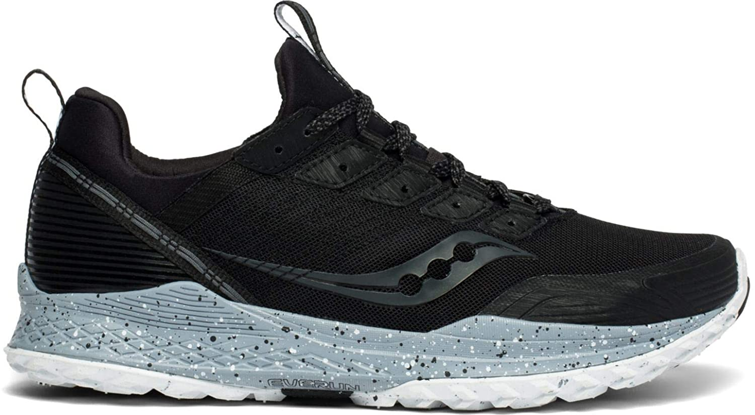 Saucony Mens Mad River TR Trail Running Shoe - Black - 10