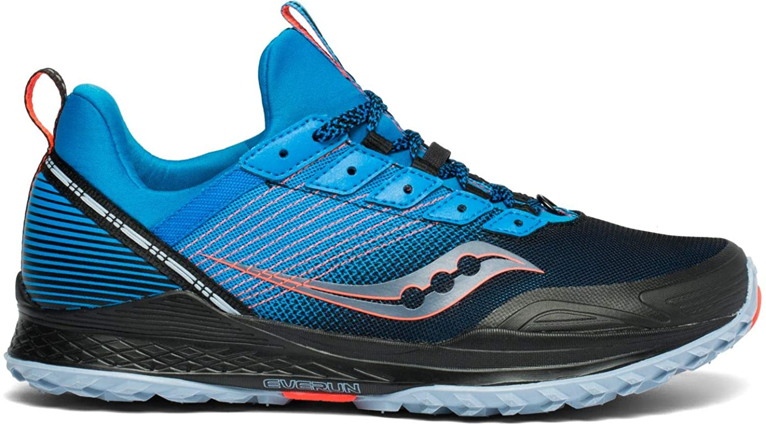 Saucony Mens Mad River TR Trail Running Shoe - Blue/Navy - 10