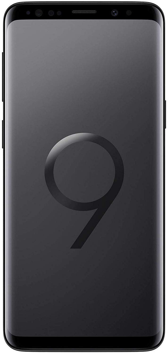 Samsung Galaxy S9 Unlocked Smartphone - 64gb - Midnight Black (Renewed)