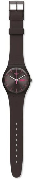 Swatch 'Brown Rebel' Watch SUOC700