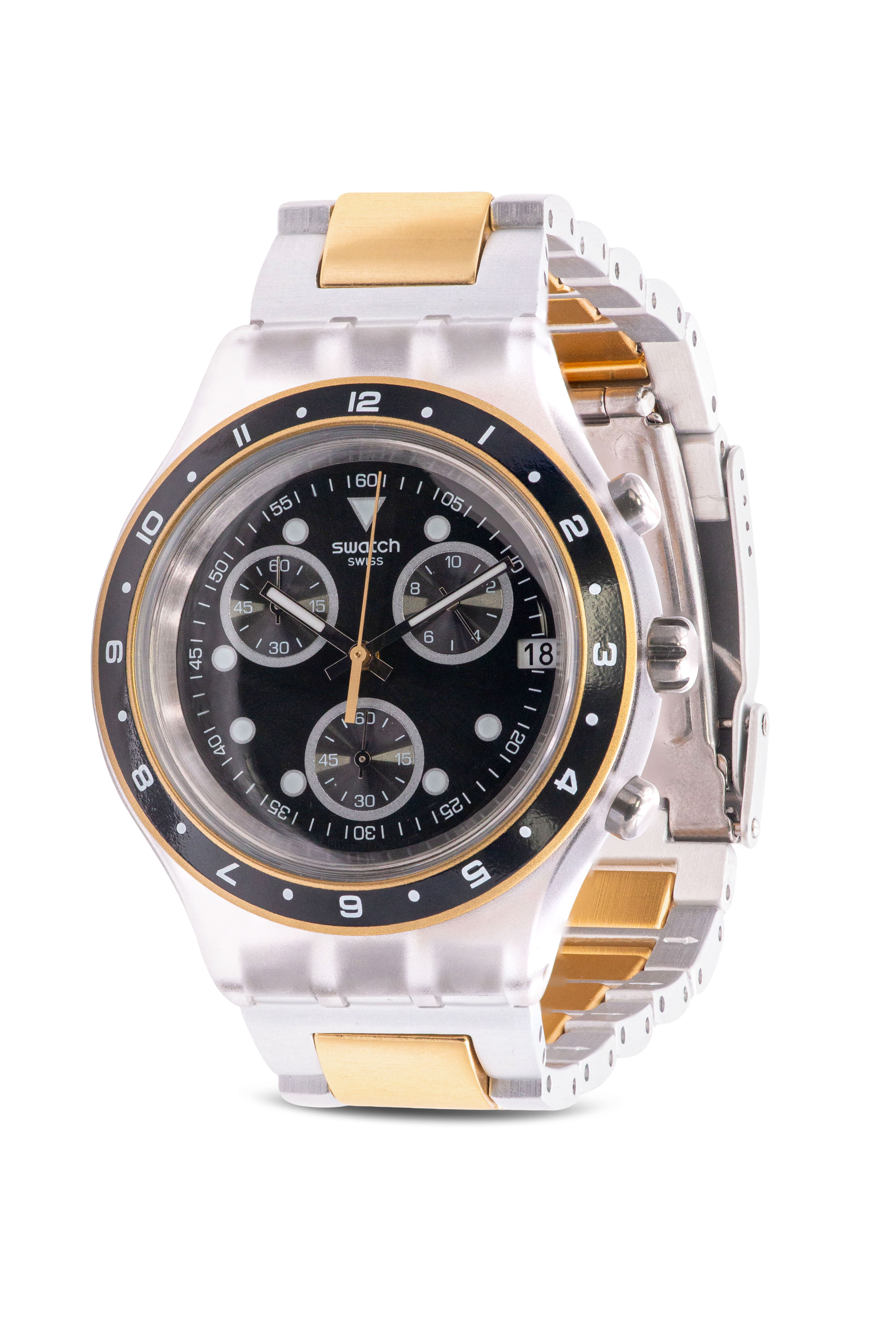 Swatch Antenor Chronograph Mens Watch SVCK4076AG