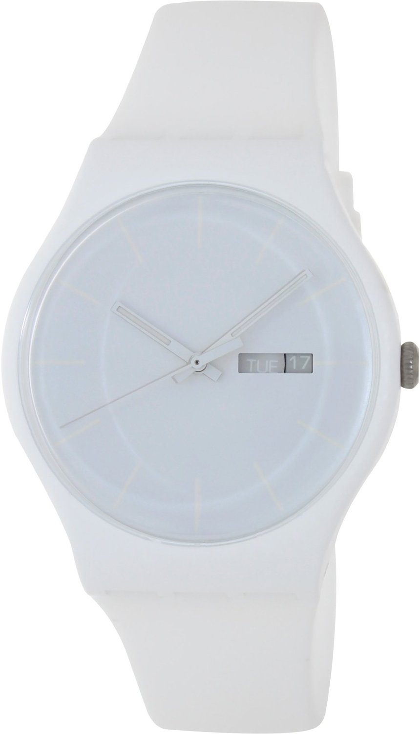 Swatch 'White Rebel' Watch SUOW701