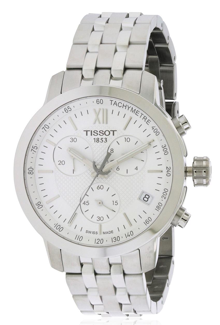 Tissot Solar Time Inc Mens Prc 200 T0554301105700 Black Watch T0554171101800