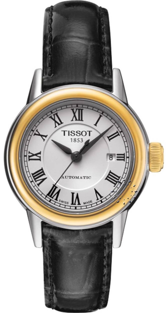 Tissot Carson Leather Ladies Watch T0852072601300
